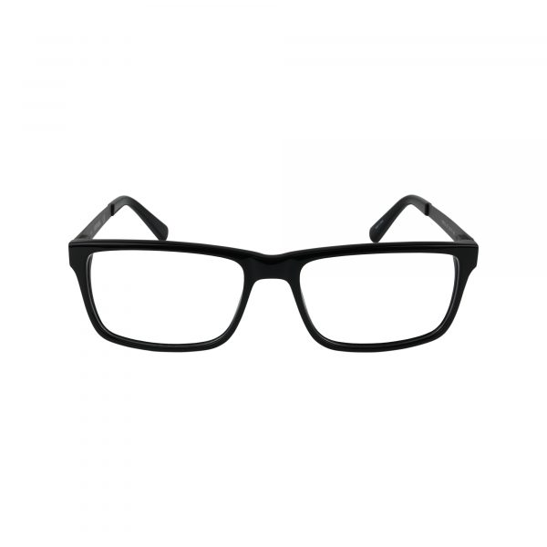 752 Black Glasses - Front View
