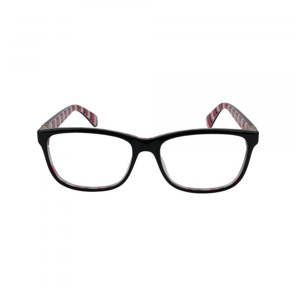 Calley Black Glasses - Front View