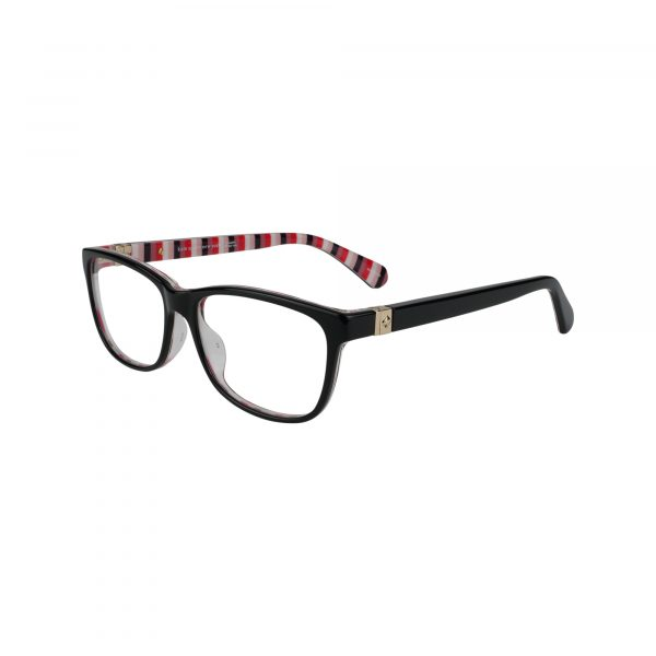 Calley Black Glasses - Side View