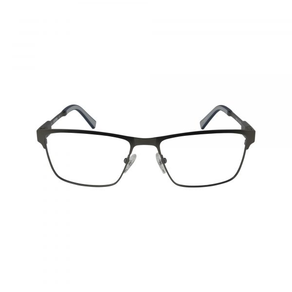 9009 Gunmetal Glasses - Front View