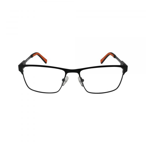 9009 Black Glasses - Front View