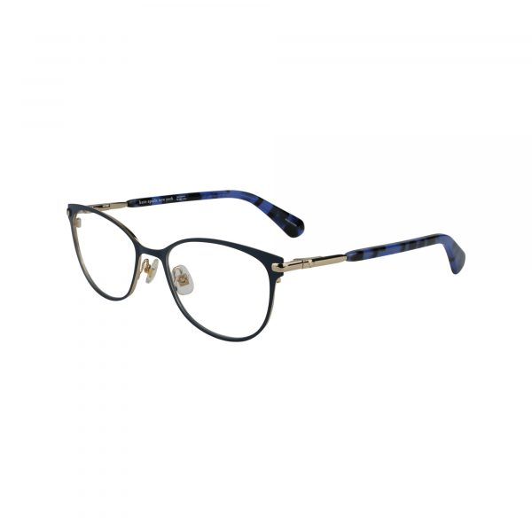 Jabria Blue Glasses - Side View