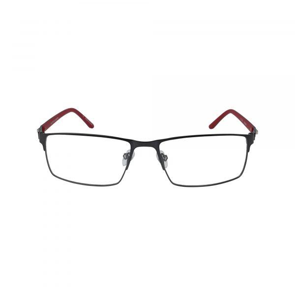 Burbank Gunmetal Glasses - Front View