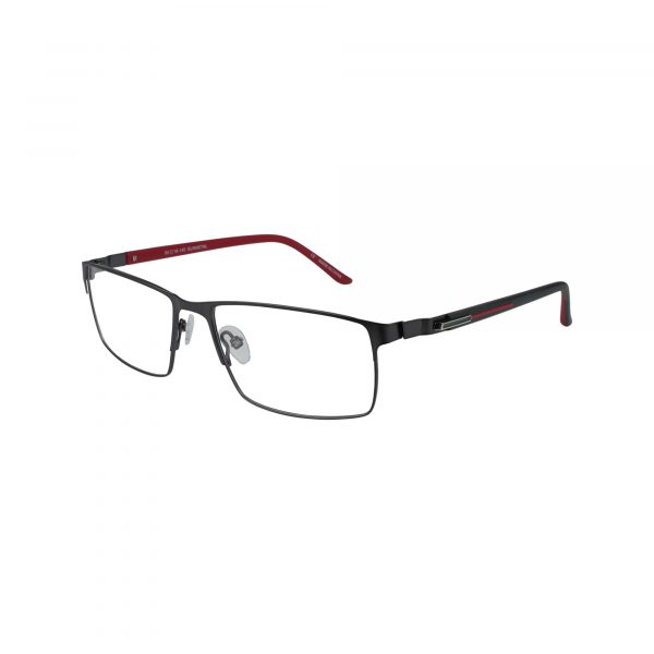 Burbank Gunmetal Glasses - Side View