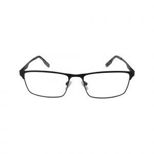 R494 Black Glasses - Front View