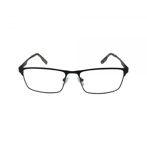 R494 Black Glasses - Front View