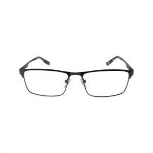R494 Gunmetal Glasses - Front View