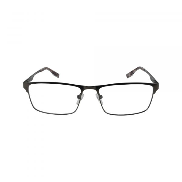 R494 Gunmetal Glasses - Front View