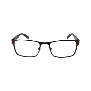 R421 Brown Glasses - Front View