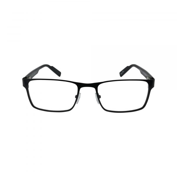 R421 Black Glasses - Front View