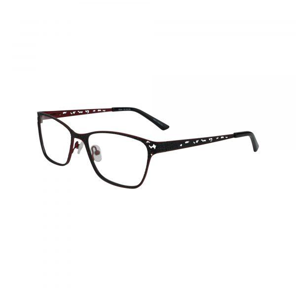 821 Black Glasses - Side View