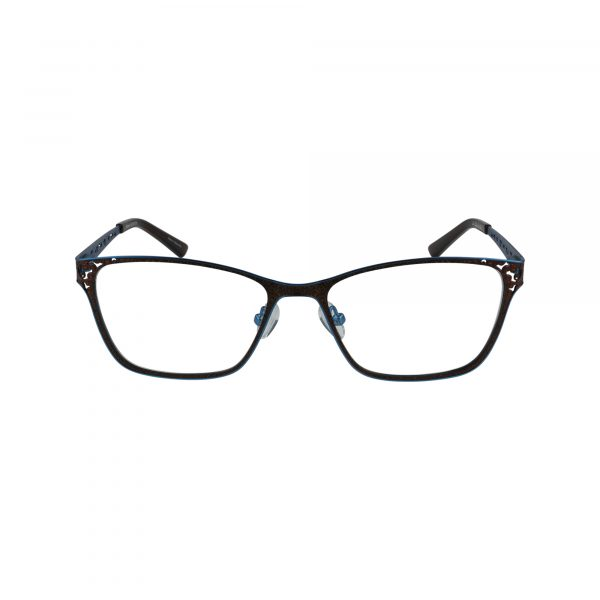 821 Brown Glasses - Front View