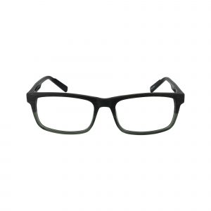 R431 Green Glasses - Front View