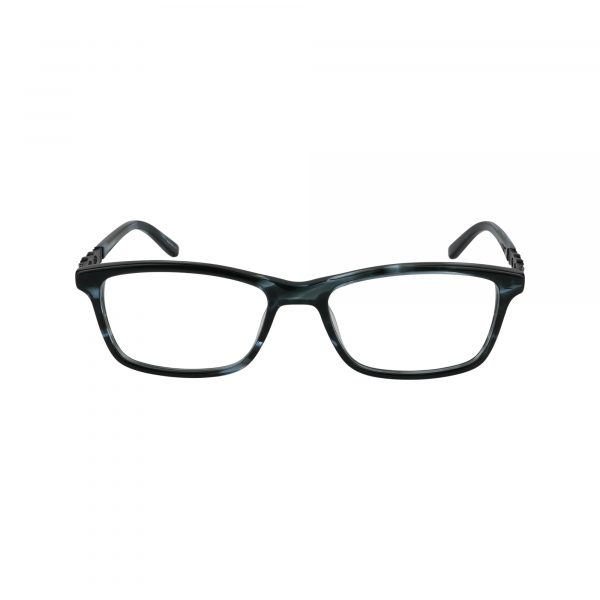 463 Gunmetal Glasses - Front View