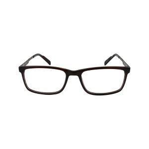 R727 Brown Glasses - Front View