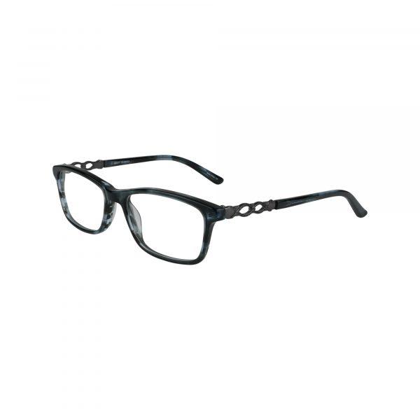 463 Gunmetal Glasses - Side View
