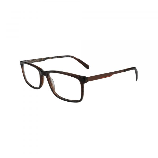 R727 Brown Glasses - Side View