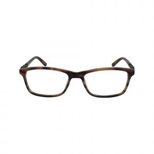 463 Brown Glasses - Front View