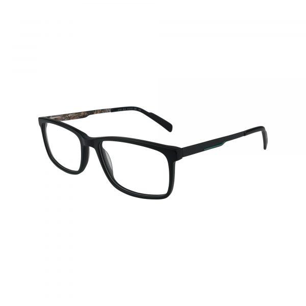 R727 Black Glasses - Side View
