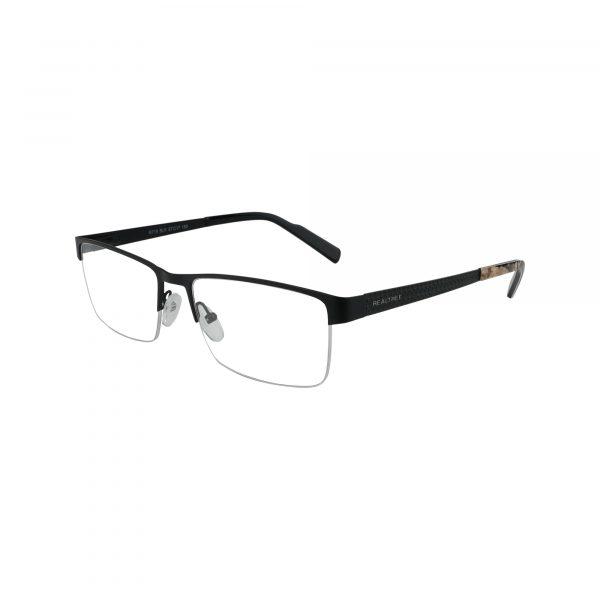 R719 Black Glasses - Side View