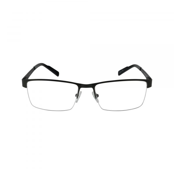 R719 Gunmetal Glasses - Front View
