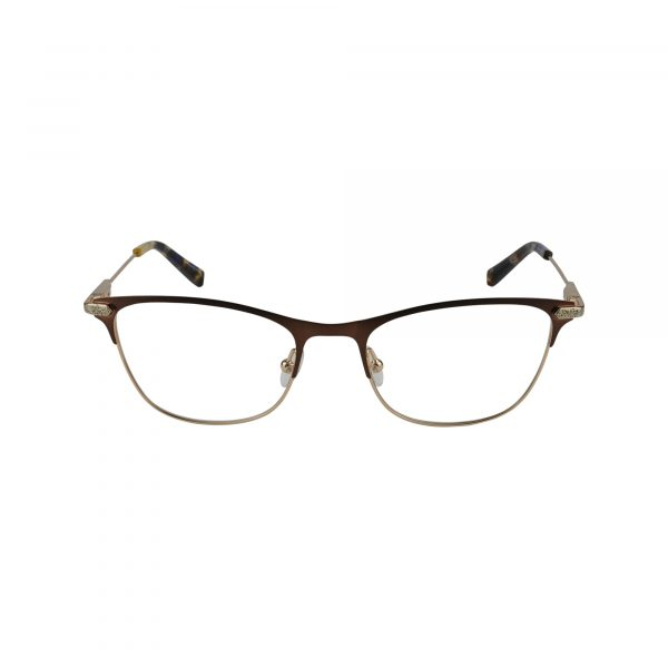 J151 Brown Glasses - Front View