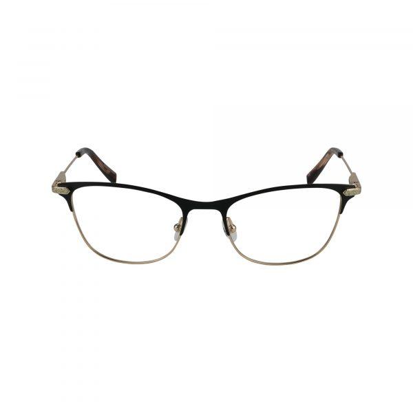 J151 Black Glasses - Front View