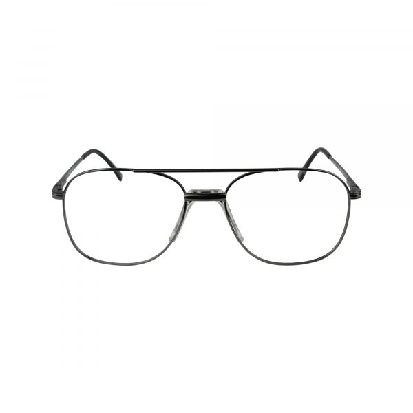 Kyle Gunmetal Glasses - Front View