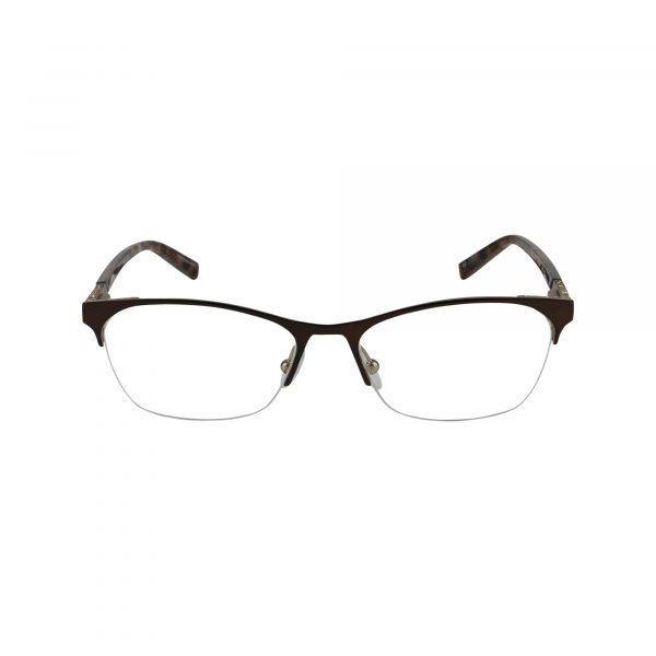 J148 Brown Glasses - Front View