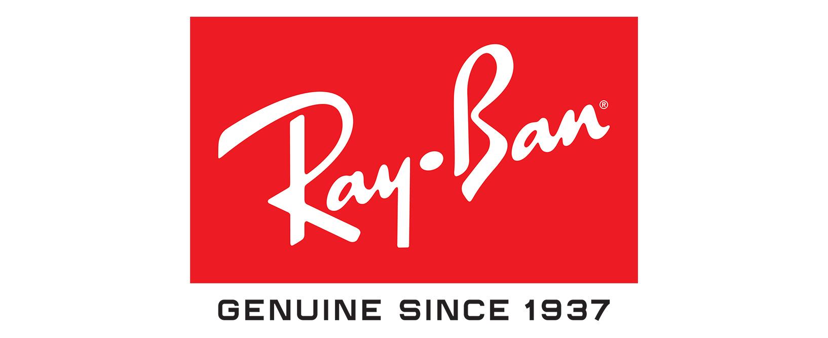 Ray Ban glasses logo