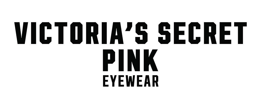 Victoria's Secret Pink glasses logo