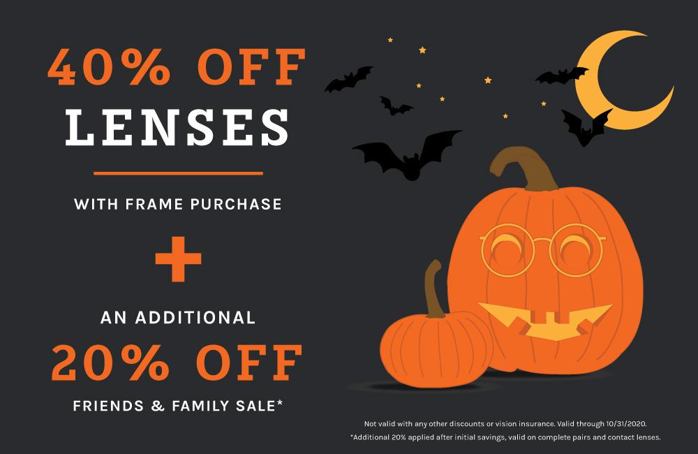Halloween Lenses and Frames Promotion - Shopko Optical