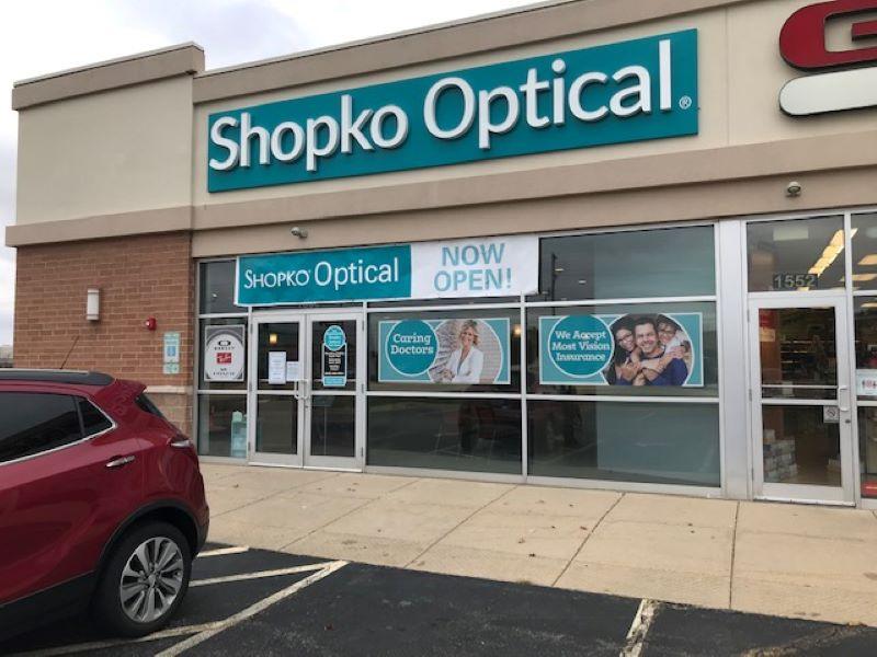 storefront 231 -Machesney Park Shopko Optical
