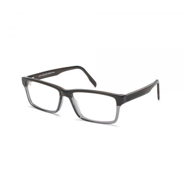 Maui Jim Split Gray and Black Frames - Side View
