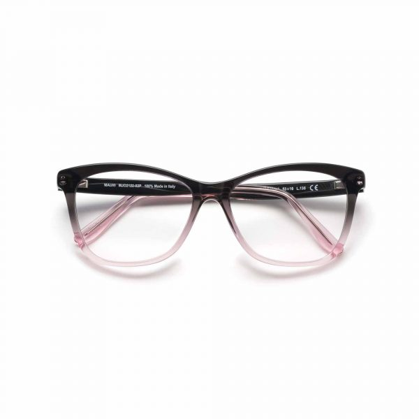 Black and Pink Ombre Maui Jim Glasses - Front View