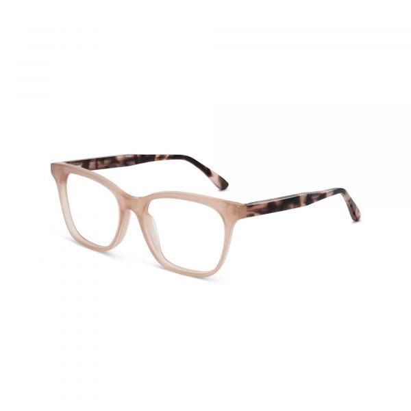 Tan Crystal and Tortoise Shell Maui Jim Glasses - Side View