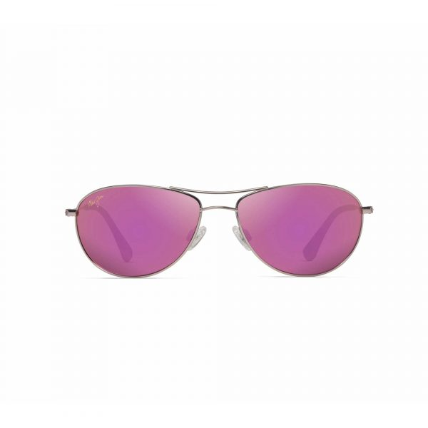 Baby Beach Maui Jim Sunglasses Pink Lenses - Front View