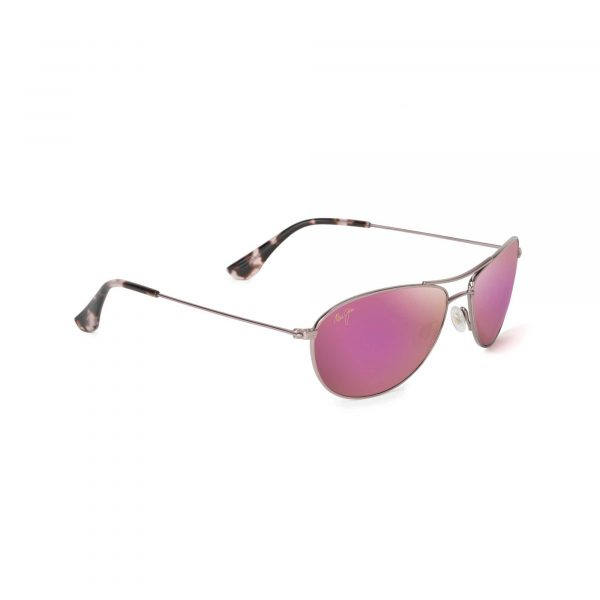 Baby Beach Maui Jim Sunglasses Pink Lenses - Side View