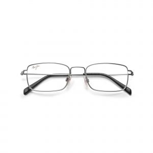 Silver Metal Maui Jim Glasses - Front View