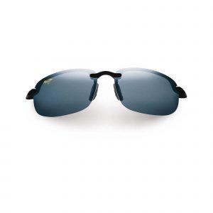 Hookipa Maui Jim Sunglasses Black - Front View