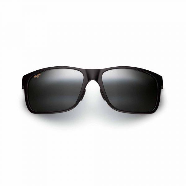 Red Sands Maui Jim Sunglasses Black - Front View