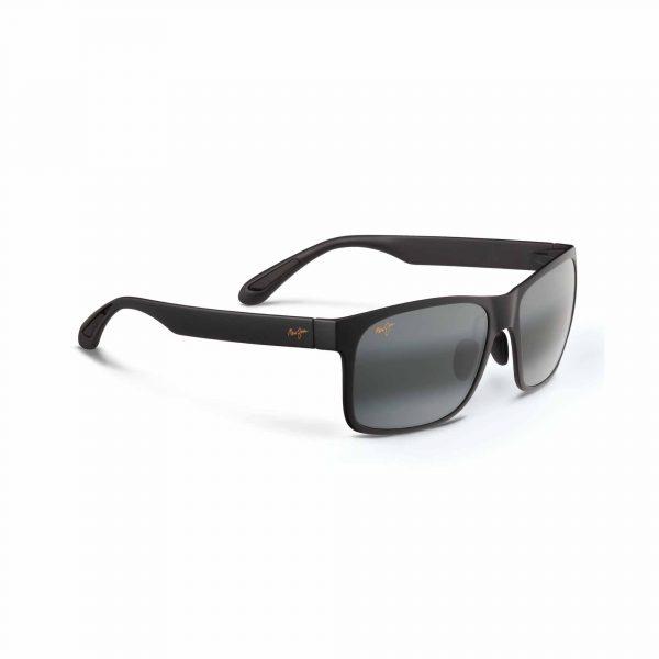Red Sands Maui Jim Sunglasses Black - Side View