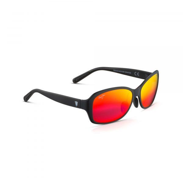 Koki Beach Maui Jim Sunglasses Red Lenses - Side View