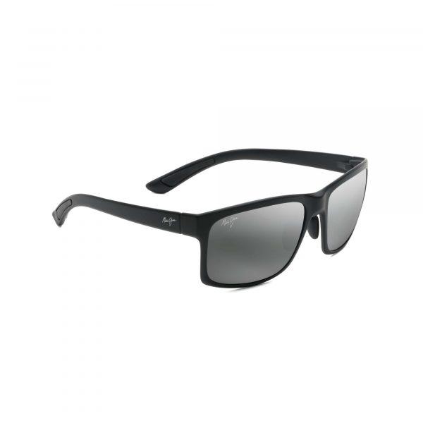 Polowai Arch Maui Jim Sunglasses Black - Side View