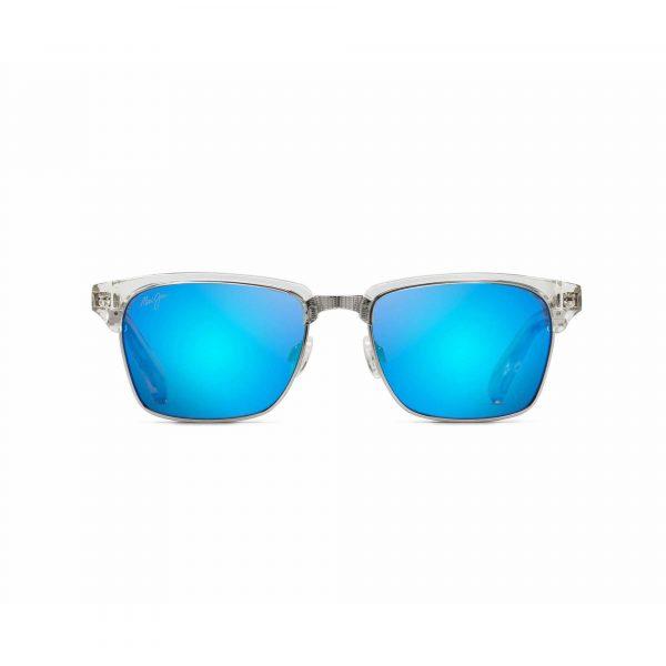 Kawika Maui Jim Sunglasses Clear - Front View