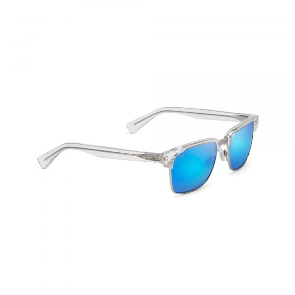 Kawika Maui Jim Sunglasses Clear - Side View