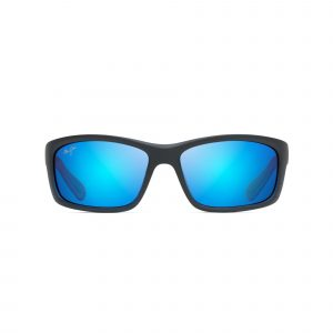 Kanaio Coast Maui Jim Sunglasses Black - Front View