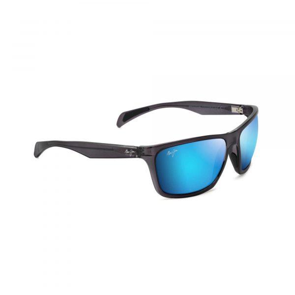 Makoa Maui Jim Sunglasses Black - Side View