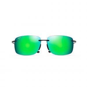 Hema Maui Jim Sunglasses Green - Front View