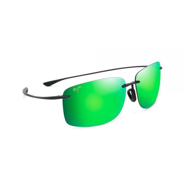 Hema Maui Jim Sunglasses Green Frames - Side View